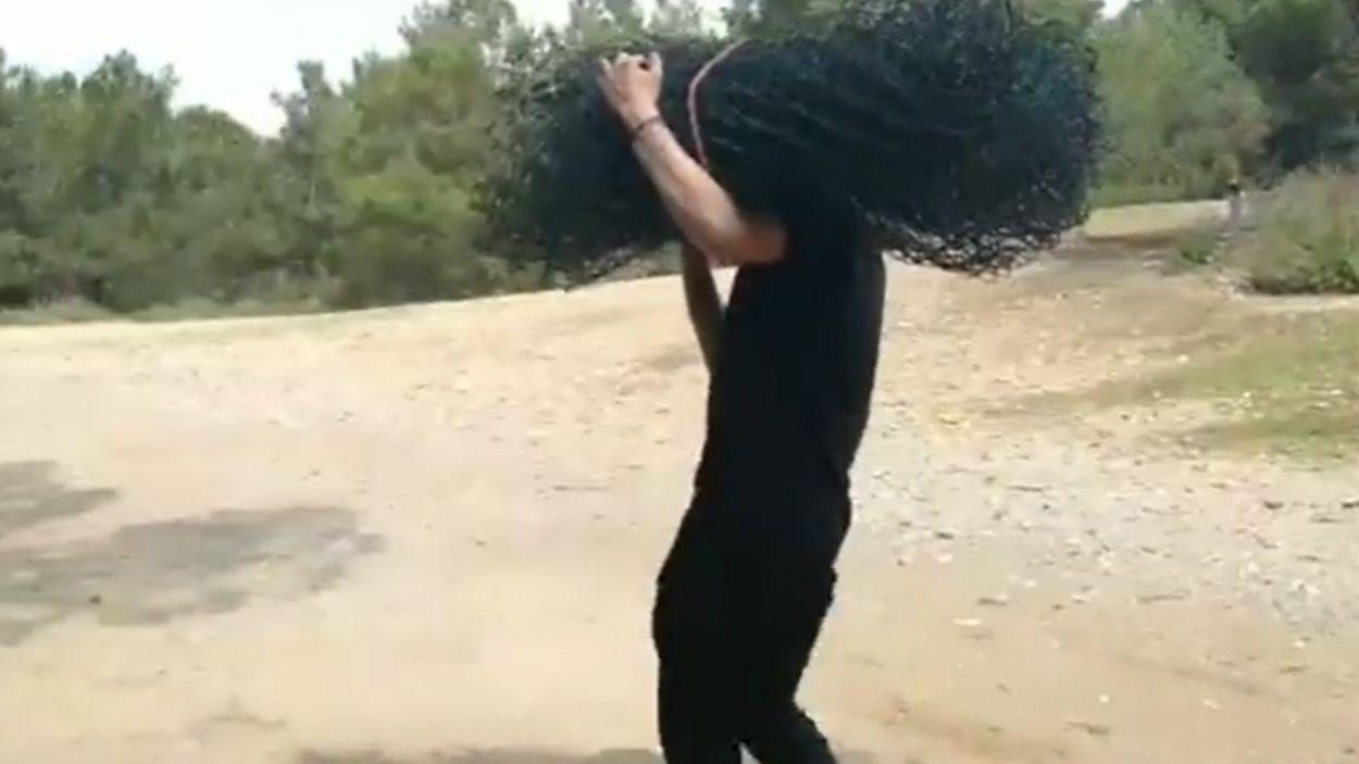 Captura del vídeo difós per Arran / Foto: Arran Sant Cugat