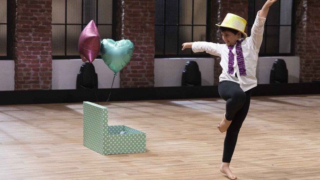 El santcugatenc Àlex Rodés en la seva actuació al programa de TVE 'The Dancer' / Foto: Moeh Atitar