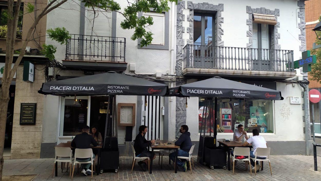 Exterior del restaurant Piaceri d'Italia, el millor restaurant de Sant Cugat segons TripAdvisor / Foto: Cugat Mèdia