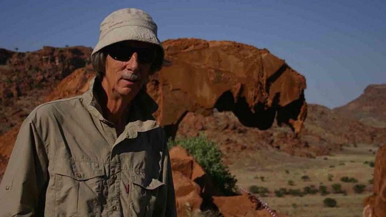 Tomàs Pladevall durant el rodatge de 'Viatge màgic a Àfrica' de Jordi Llompart / Foto: Wikicommons
