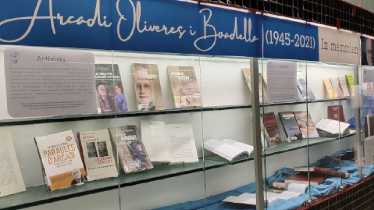 La mostra presencial es pot visitar a planta 0 de la Biblioteca de Ciències Socials de la UAB / Foto: UAB