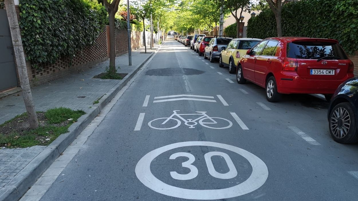 Nous límits de velocitat a Sant Cugat: a 30 km/h als carrers d'un sol carril per sentit de circulació
