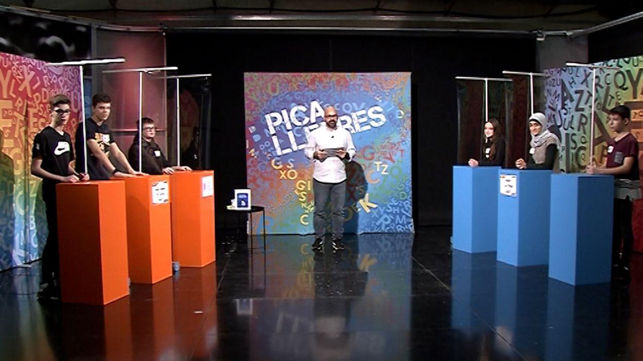 Imatge del cinquè programa del concurs 'Picalletres' / Foto: Cugat Mèdia