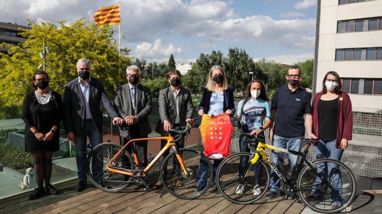 Imatge de la presentació de la segona Revolta, a l'ajuntament / Foto: Lali Puig - Ajuntament de Sant Cugat