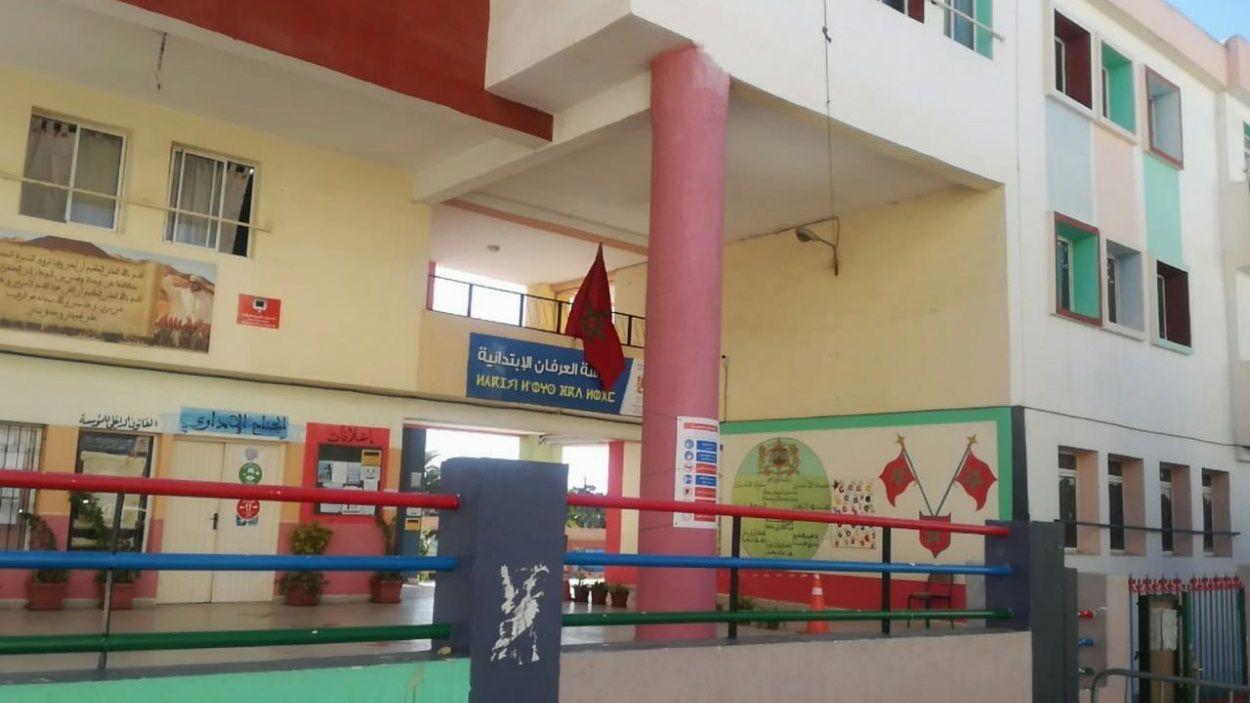 Imatge de l'escola on es duu a terme el Projecte de l'Assemblea de Cooperació per la Pau co-financiat per l'Ajuntament de Sant Cugat / Foto: ACPP