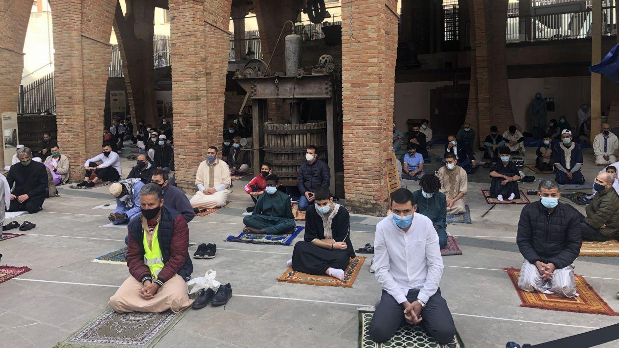 La comunitat musulmana de Sant Cugat celebra el final del Ramadà