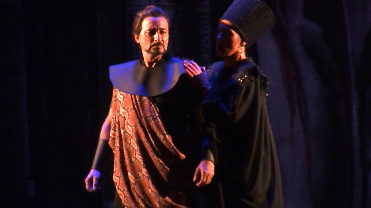 Un moment de l'òpera / Foto: Cugat Mèdia