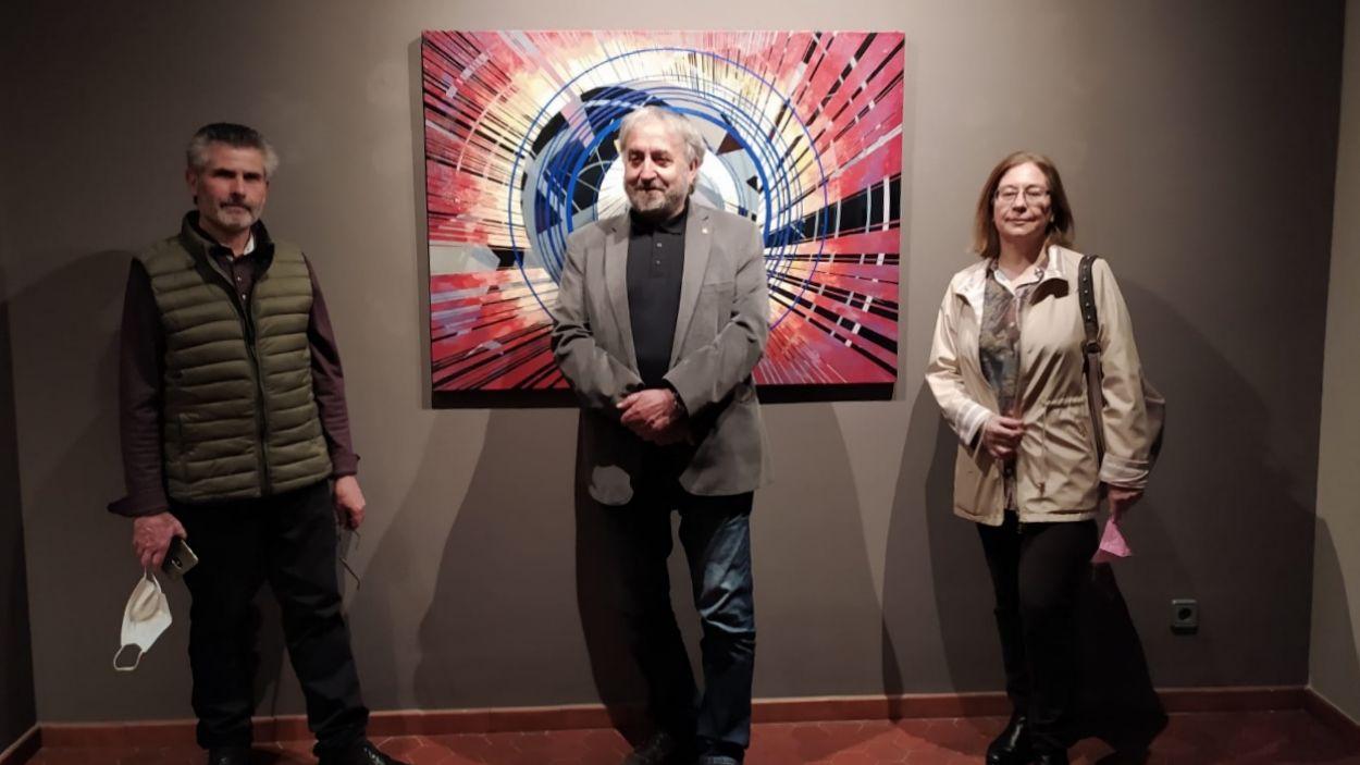 Martín Carral, Josep Canals i Carmen Anzano / Foto: Cugat Mèdia