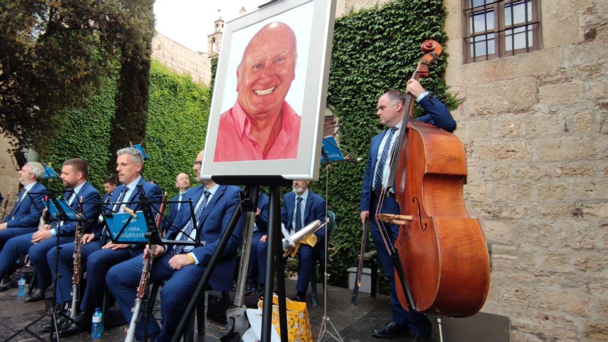 Concert de l'Entitat Sardanista de Sant Cugat en homenatge a Pere Pahisa / Foto: Cugat Mèdia