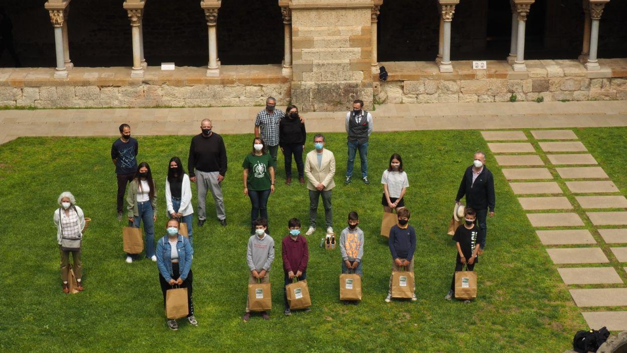 Els Castellers de Sant Cugat han premiat els millors relats dels participants / Foto: Cedida (Gausacs)