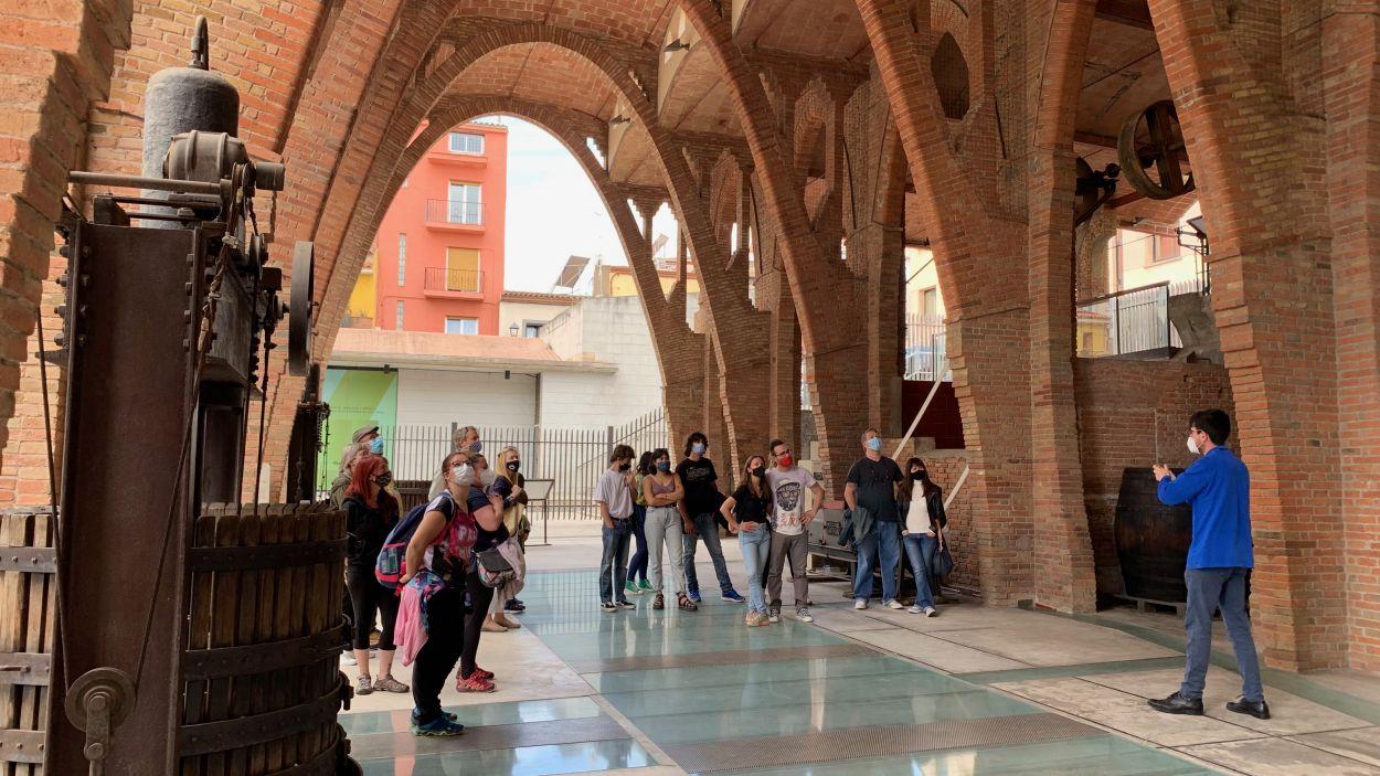 Visita guiada al Celler Modernista amb motiu del Dia Internacional dels Museus / Foto: Cugat Mèdia