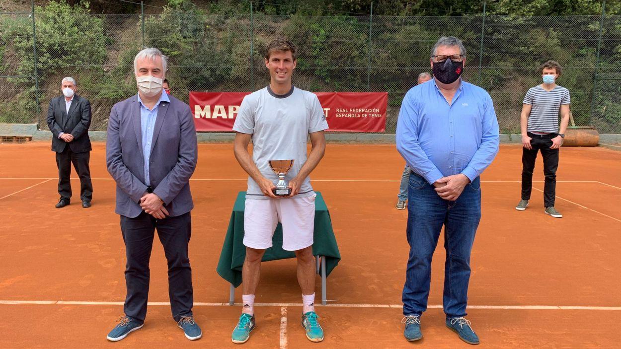 Álvaro López guanya el 15è Trofeu Vila de Valldoreix / Foto: BTT