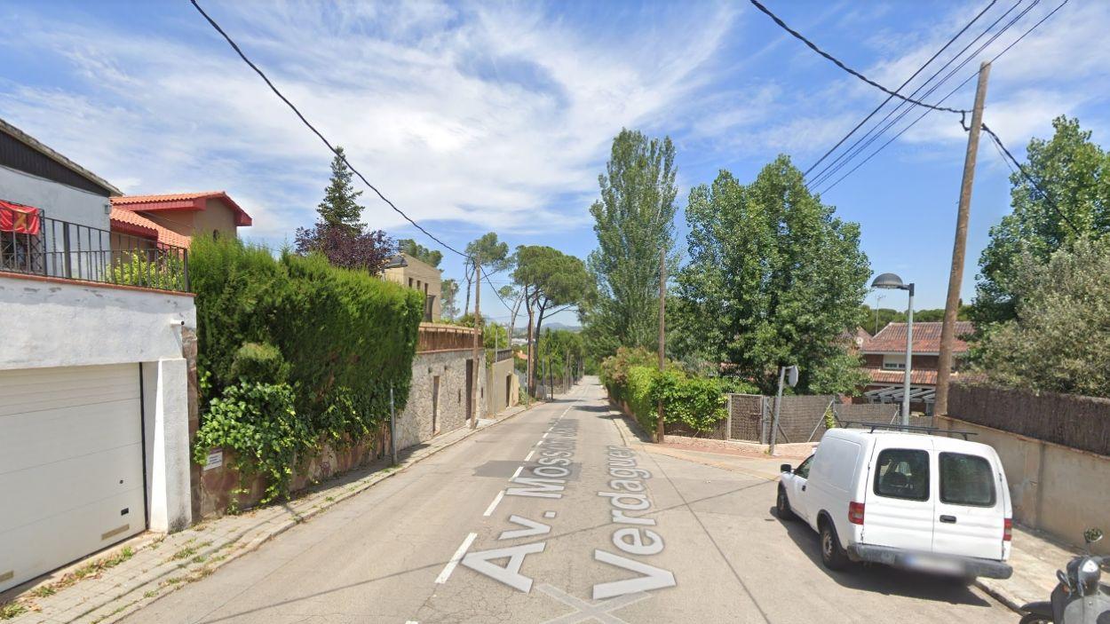 Imatge de l'avinguda Jacint Verdaguer / Foto: Google Maps