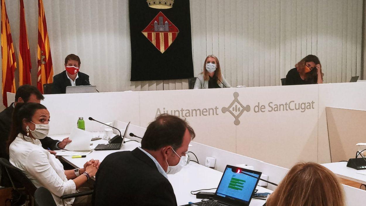 Imatge d'arxiu d'un ple municiapl / Foto: Ajuntament de Sant Cugat