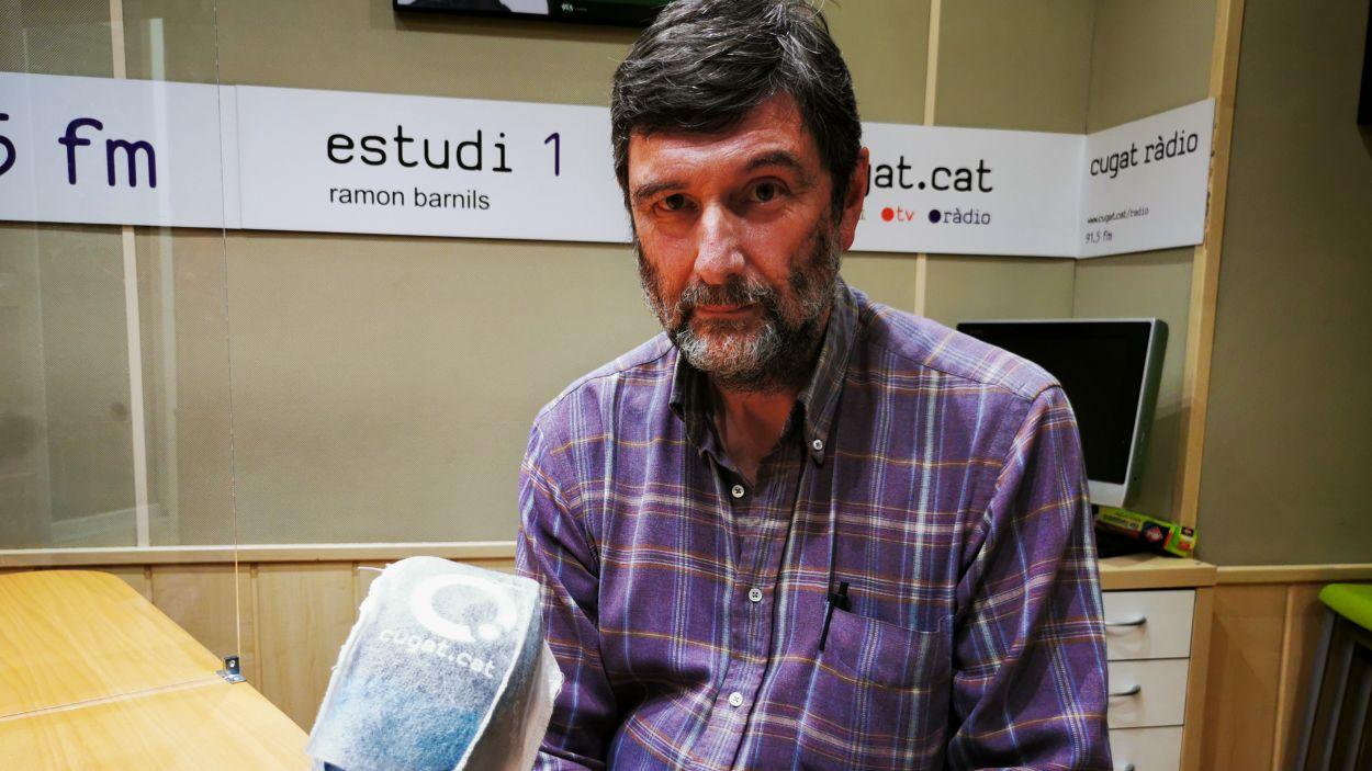 Andreu Travé, tresorer de Wise People Sant Cugat / Foto: Cugat Mèdia