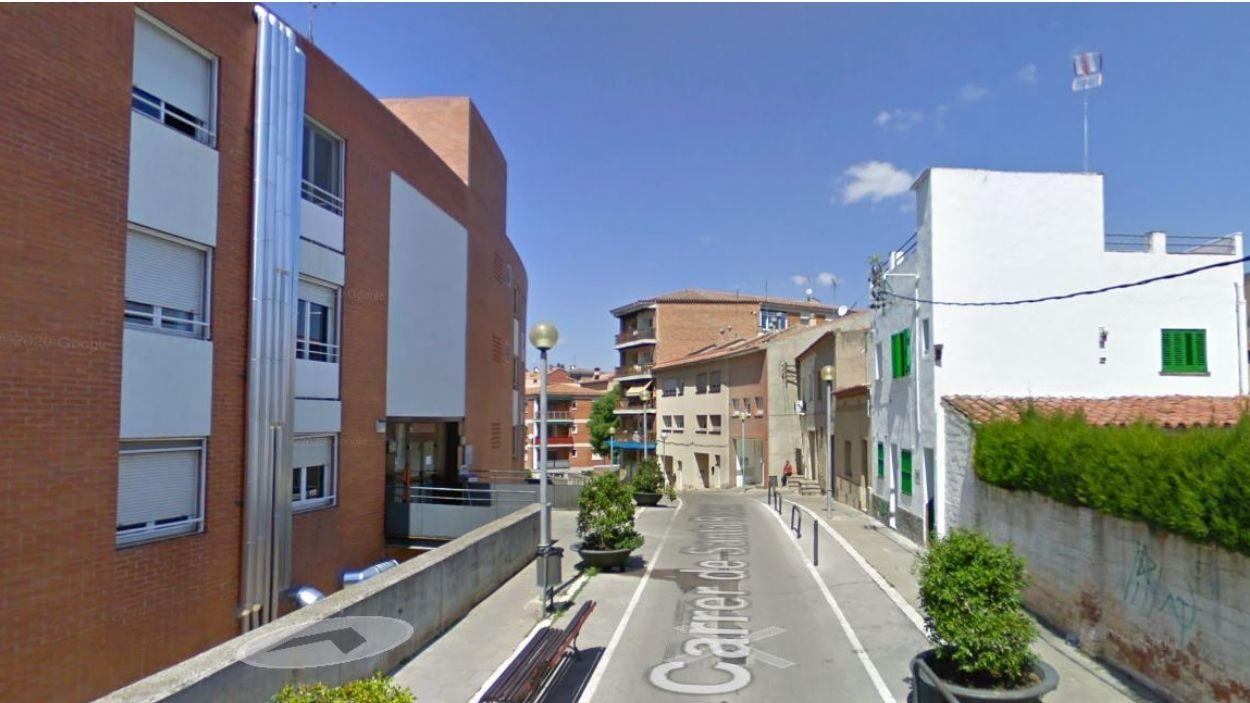 Imatge d'arxiu del carrer Santa Rosa / Foto: Google Maps