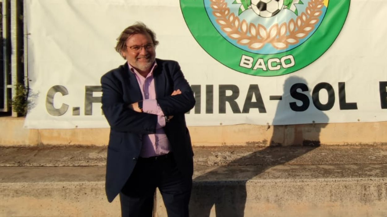 Joan Salabert, reelegit president del CFU Mira-sol Baco / Foto: CFU Mira-sol Baco