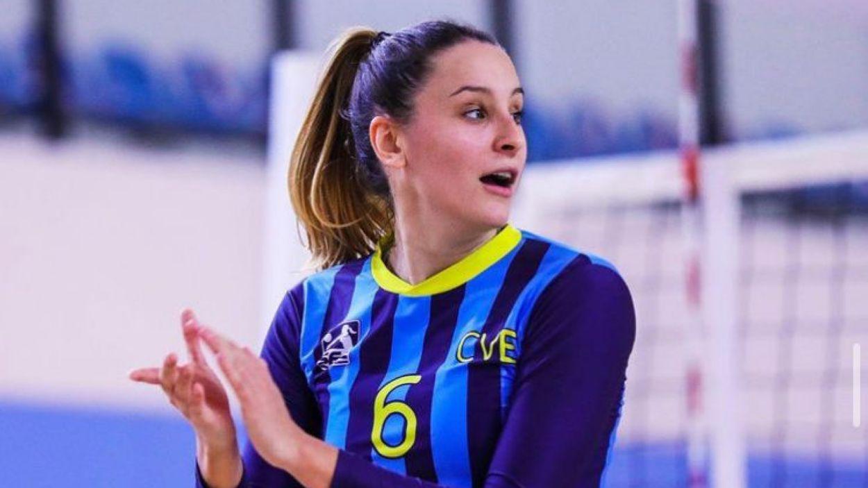 Carlota Martínez, nova jugadora del DSV- Club Voleibol Sant Cugat / Foto: Xavi Vegas