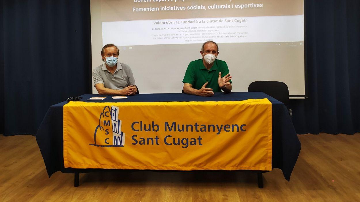 La Fundació Club Muntanyenc vol impulsar iniciatives socials a Sant Cugat