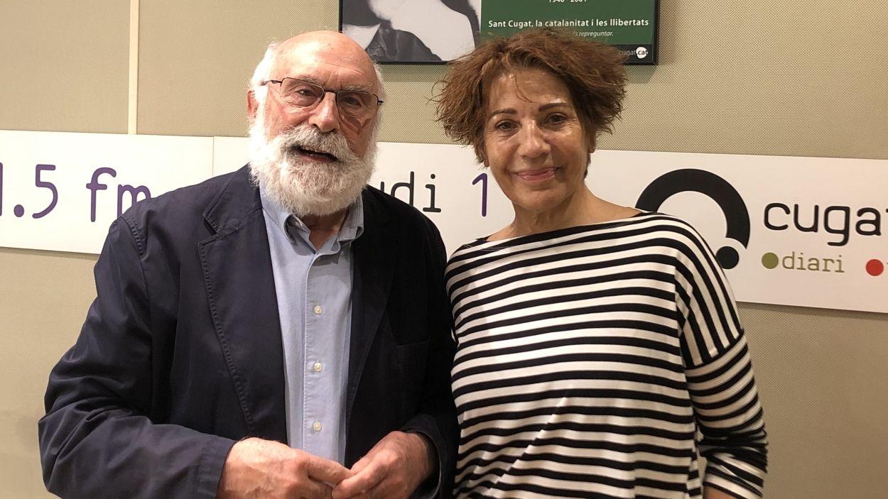 Eduard Jener i Emma Vilarasau / Foto: Cugat Mèdia
