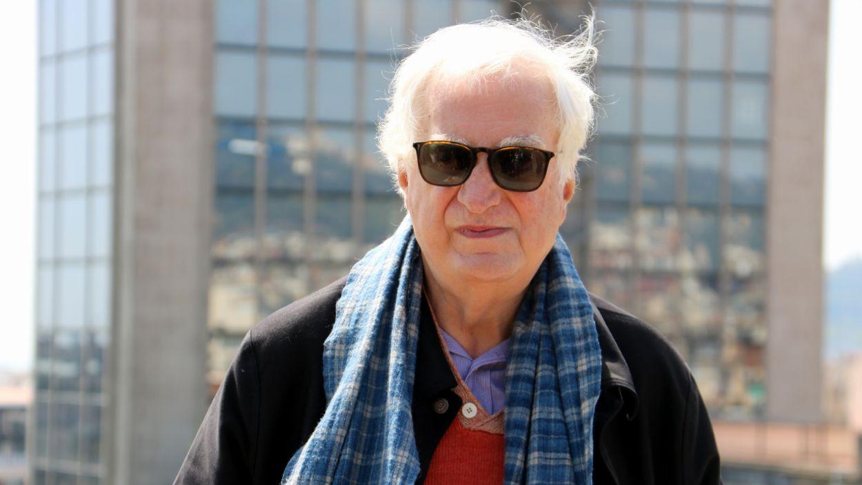 Bertrand Tavernier a l'Hotel Casa Fuster, en el marc del BCN FIlm Fest, el 2017 / Foto: ACN (Pere Francesch)