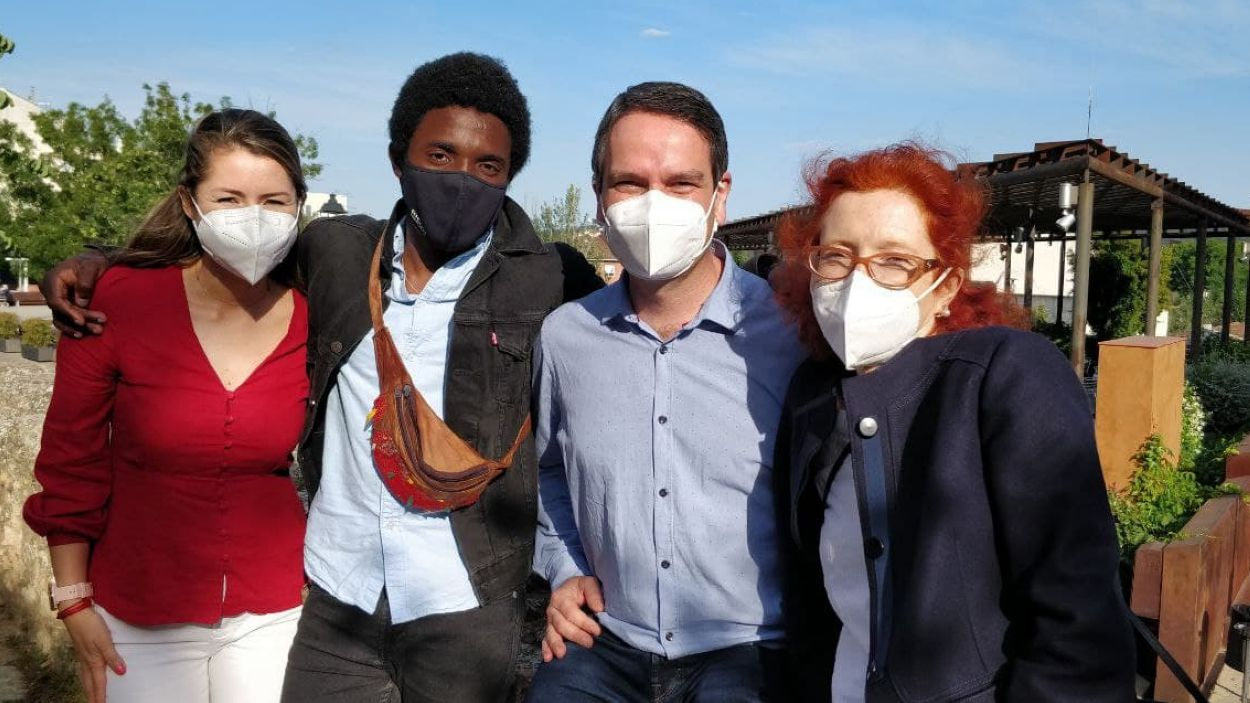 Gabriela Martínez, Richard Lamah, Xavier Oliva i Marta Jurgens / Foto: Cugat Mèdia