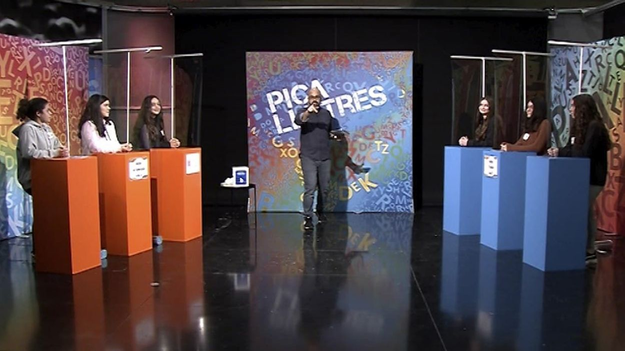 L'institut L'Estatut de Rubí i Les Aimerigues de Terrassa competeixen al 'Pica lletres'