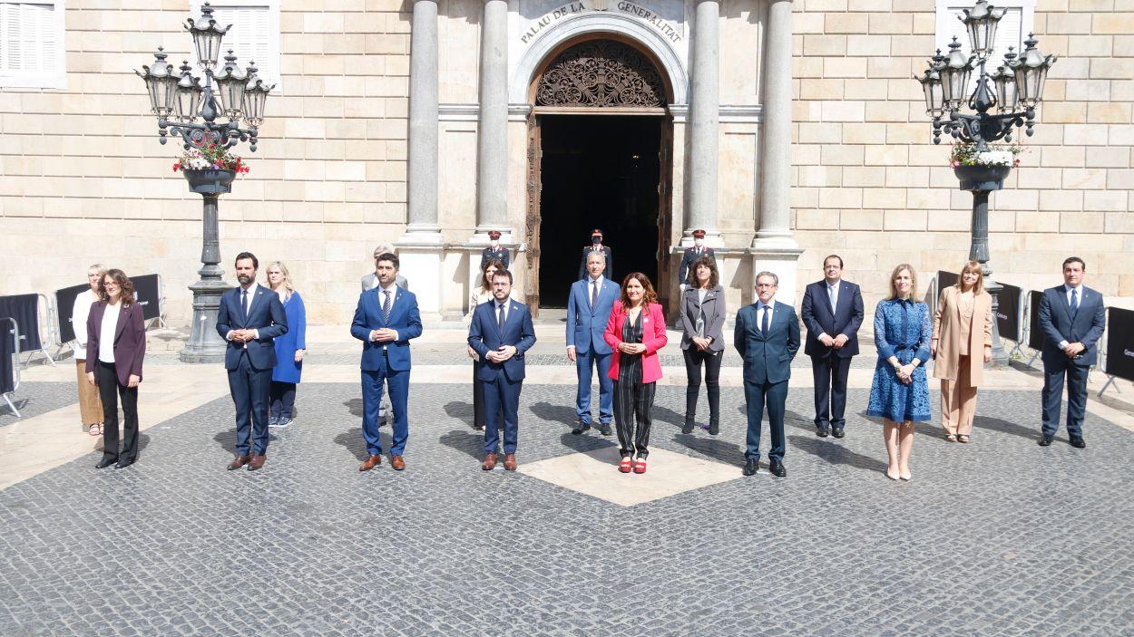 El nou Govern pren possessió amb els santcugatencs Puigneró i Garriga a l'executiu