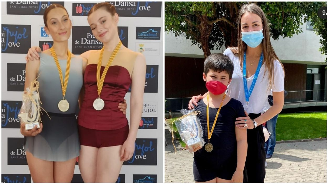 Tres dels guanyadors del certamen / Fotos: Cedides