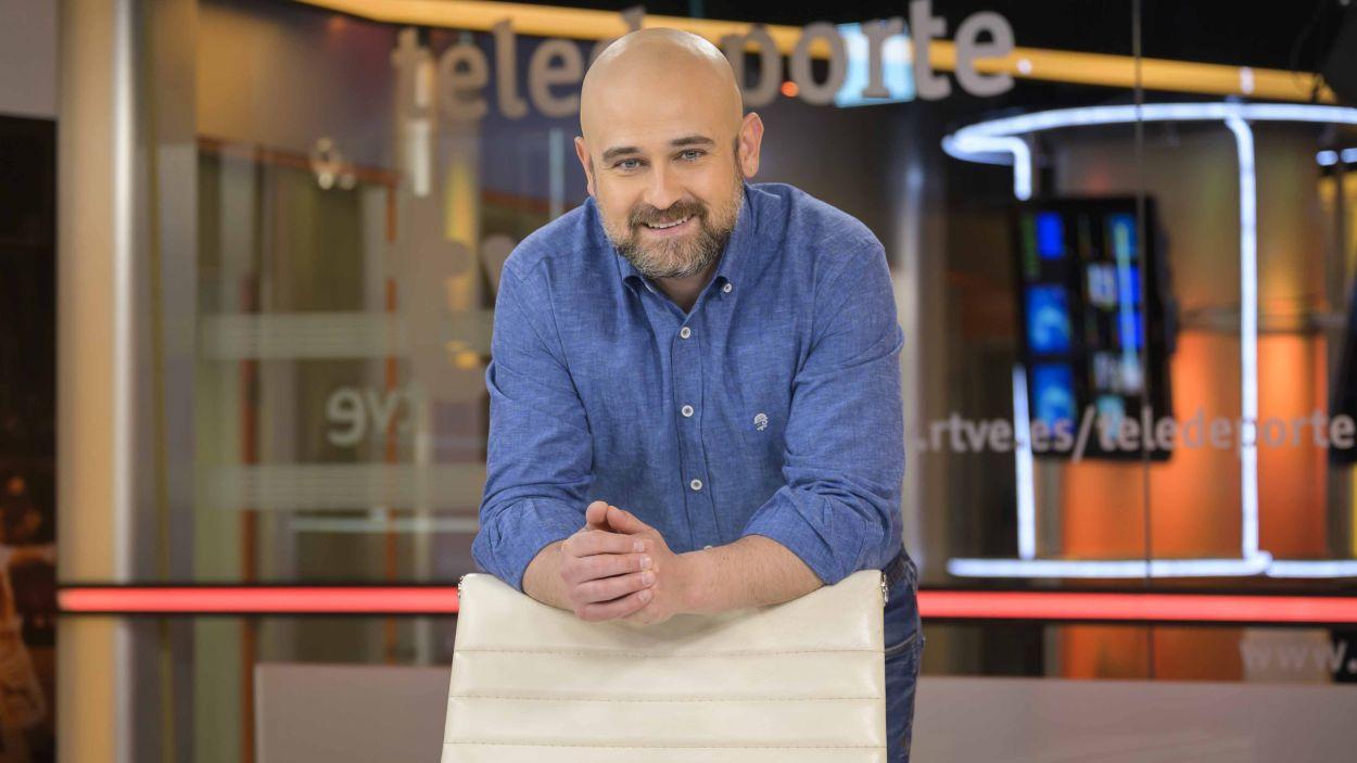 """Marc Martín (RTVE Catalunya): """"La redacció d'esports és una olla de grills perquè ens apassiona el que fem"""""""