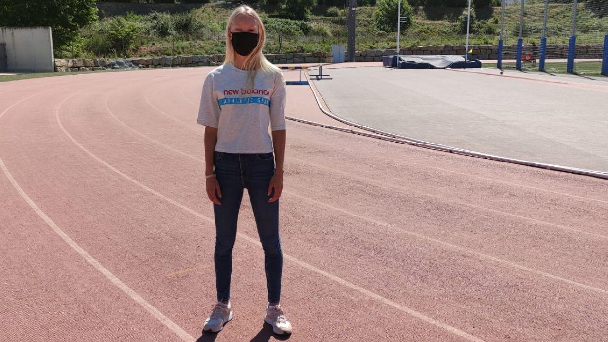 Zoya Naumov ha necessitat aturar la seva carrera esportiva / Foto: Cugat Mèdia