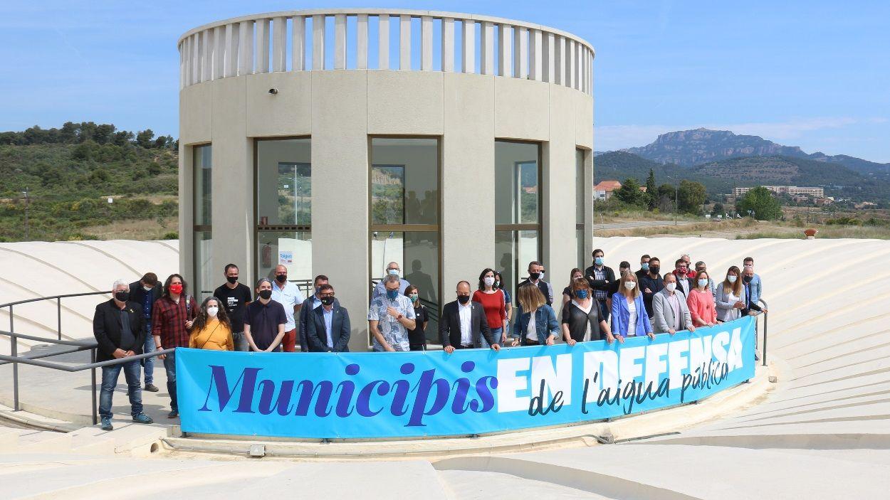 Imatge de la trobada a la depuradora de Can Boada, a Terrassa / Foto: ACN