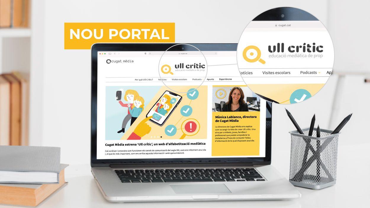 Ull Crític, el nou portal de Cugat Mèdia / Foto: Cugat Mèdia