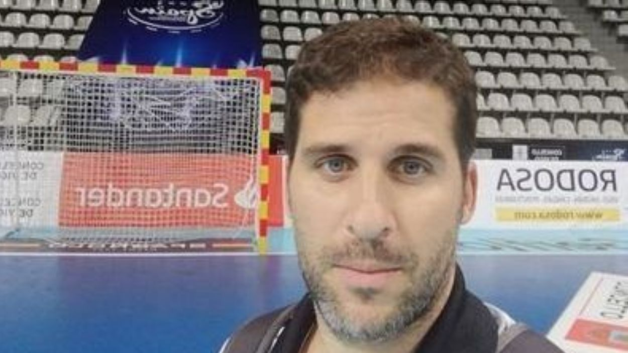 Dani Ariño, nou entrenador de l'Handbol Sant Cugat / Foto: Dani Ariño