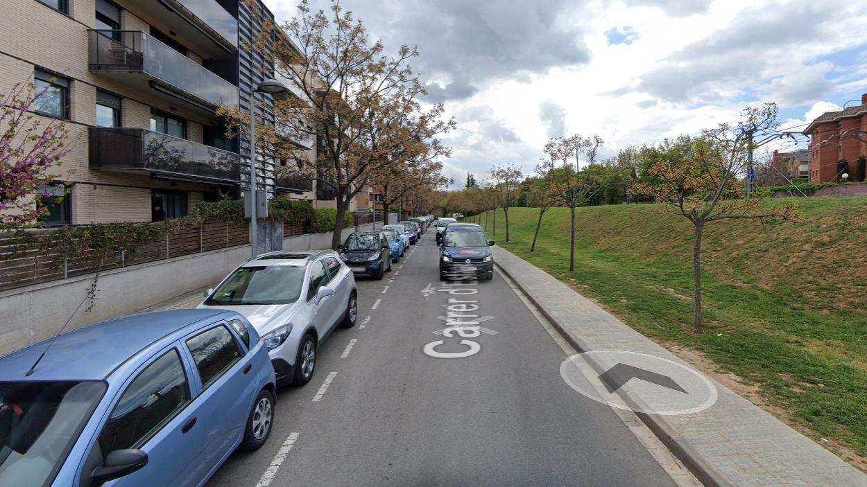 Imatge d'arxiu del carrer d'Estapé / Foto: Google Maps