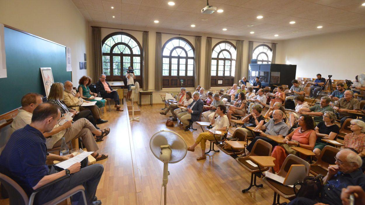 Roda de premsa: 36è Curs d'Estiu de la Unipau