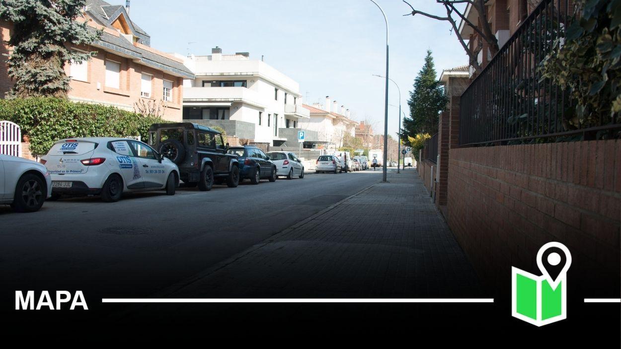 Imatge d'arxiu del barri de l'Eixample Sud de Sant Cugat / Foto: Localpres