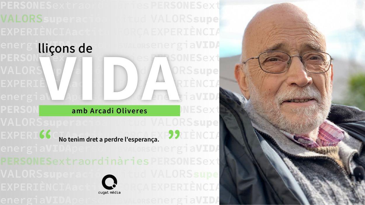 Arcadi Oliveres / Foto: Cugat Mèdia