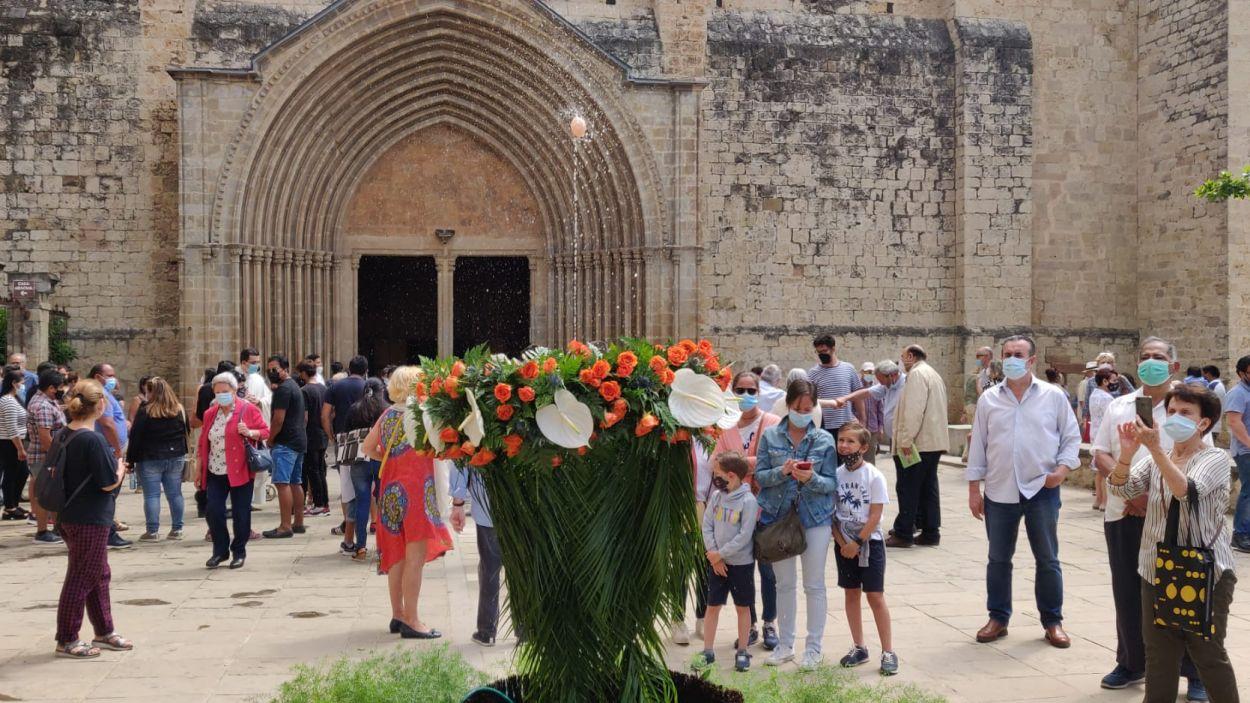Corpus Christi amb ou com balla, però sense catifa de flors / Foto: Cugat Mèdia