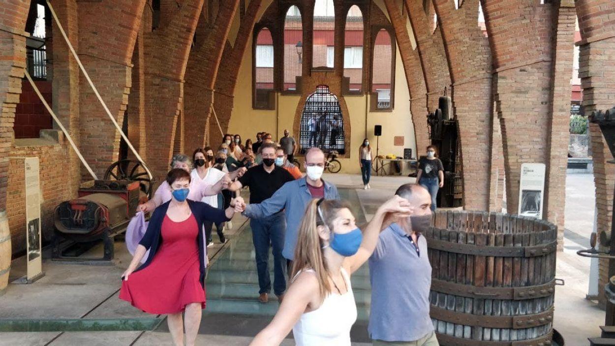 Els assajos tenen lloc al Celler Modernista / Foto: Cugat Mèdia