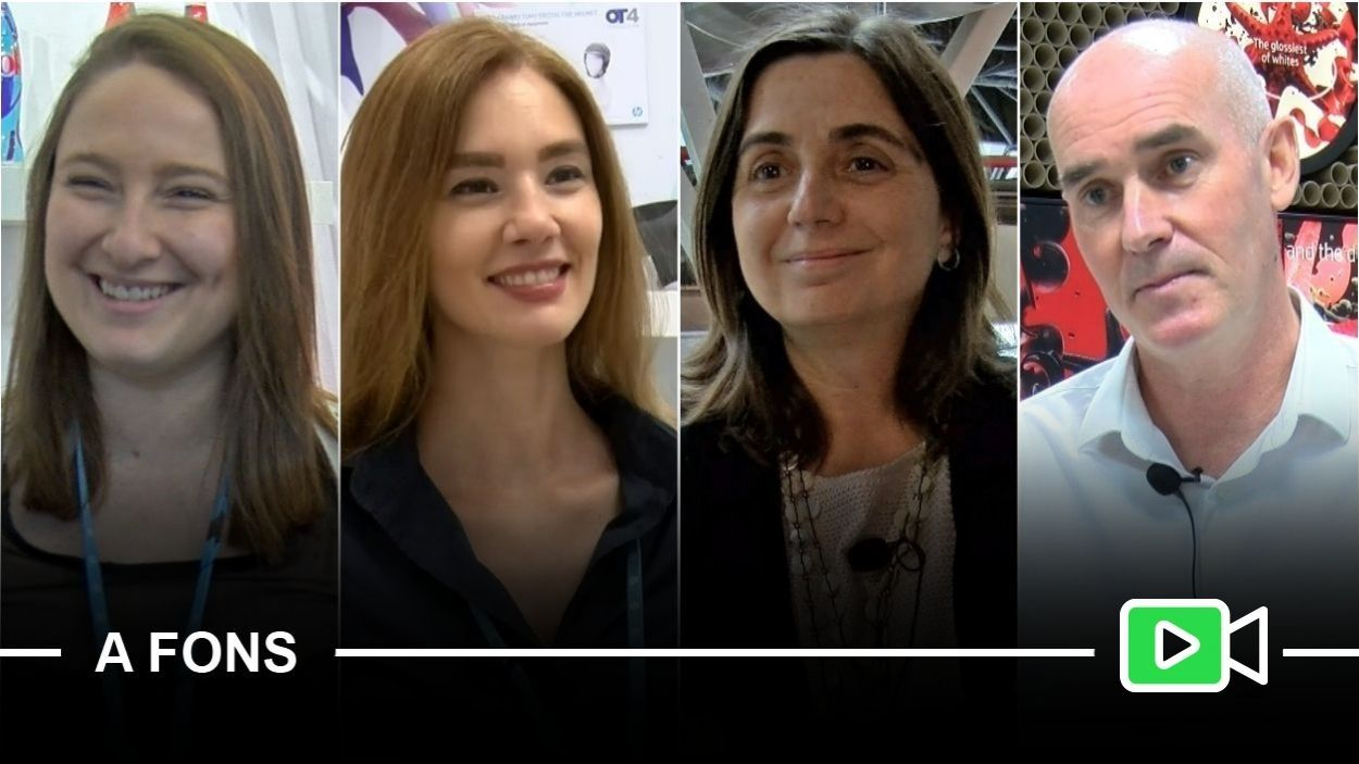 Mariana Noriega, Ayelén Fernánez, Eva Blanco i Alan Lobban / Foto: Cugat Mèdia