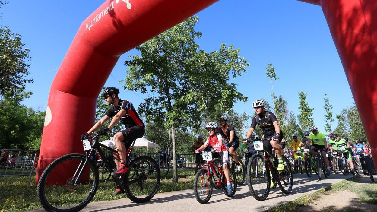 Imatge de la Pedalada de Festa Major d'altres edicions / Foto: Unio Ciclista Sant Cugat