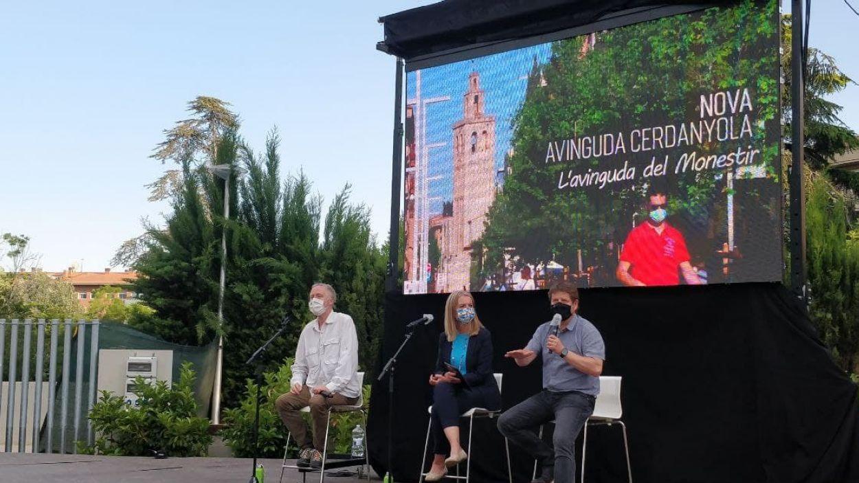 La presentació ha tingut lloc als Jardins del Vallès / Foto: Cugat Mèdia