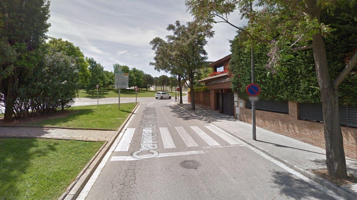 Imatge del pas de vianants / Foto: Google Maps