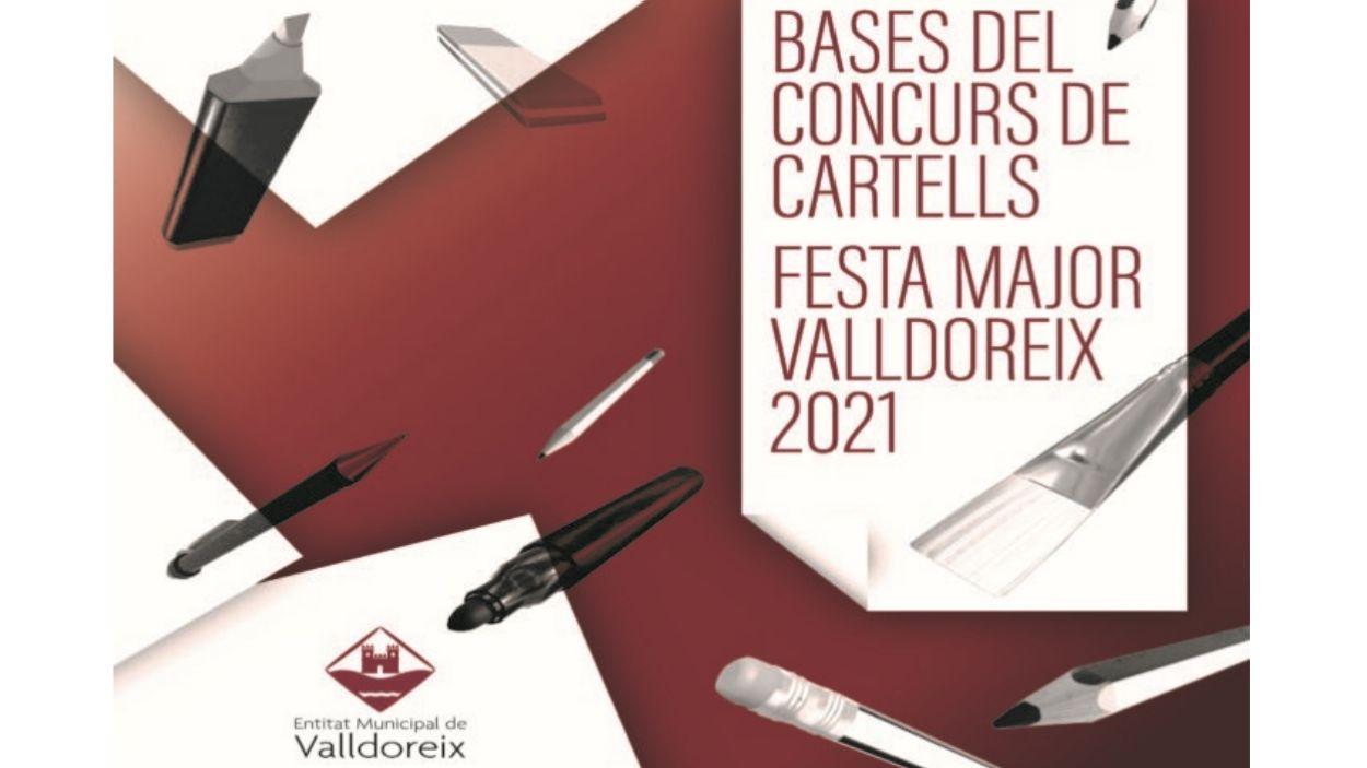 Imatge del cartell promocional del concurs / Foto: EMD Valldoreix