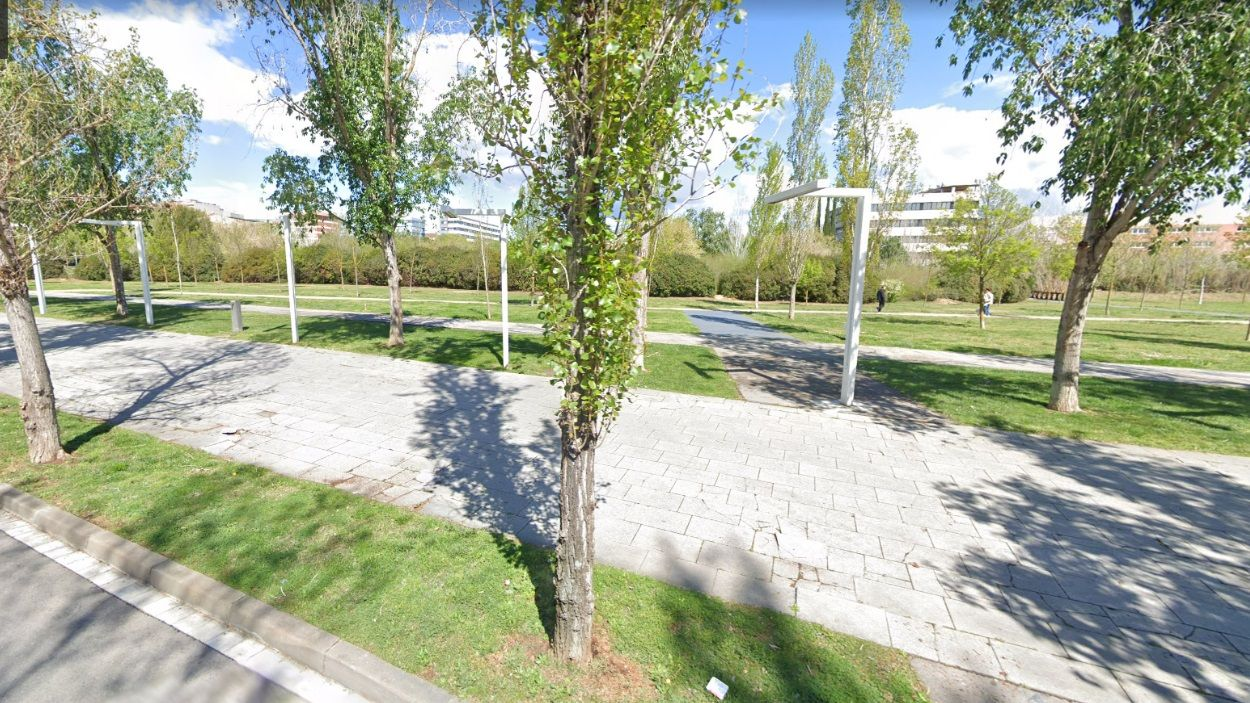 El final de la Rambla del Celler, tocant al parc de la Pollancreda / Foto: Google Maps