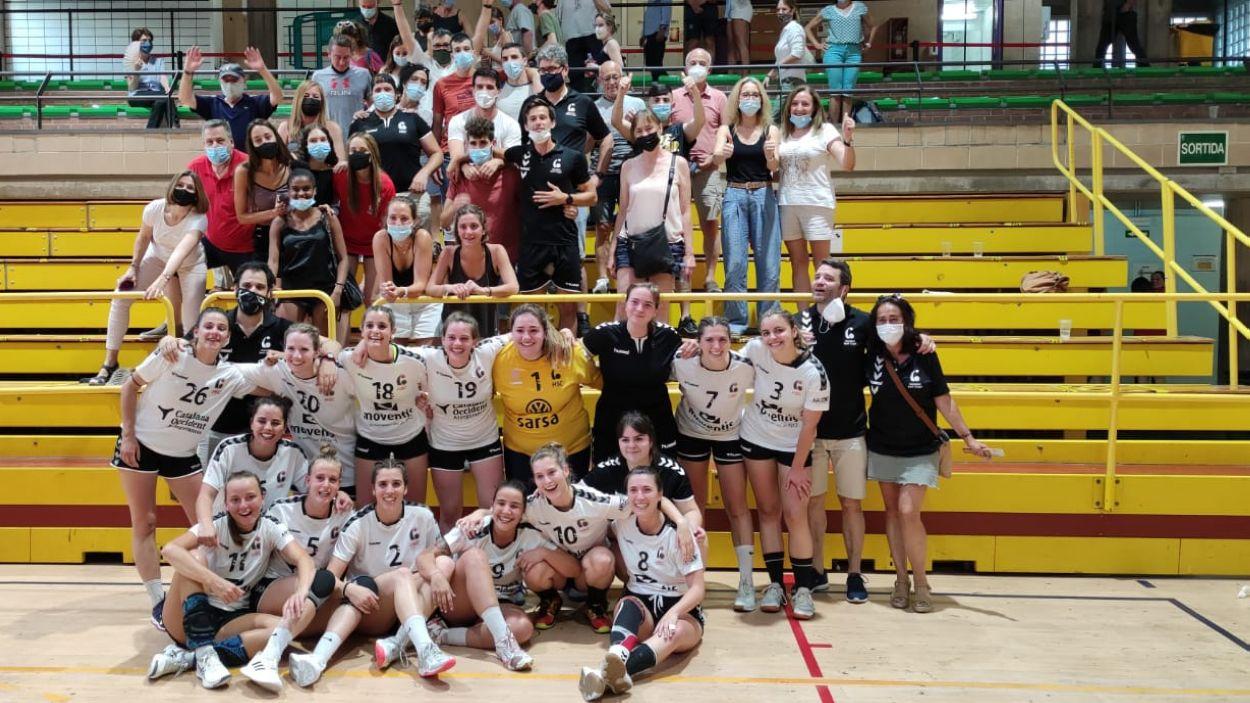 L'Handbol Sant Cugat, campió de la Copa Federació / Foto: Cugat Mèdia