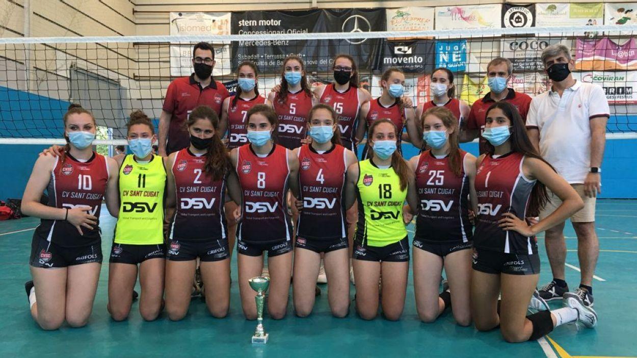 El Voleibol Sant Cugat està realitzant una temporada excel·lent / Foto: Volei Sant Cugat