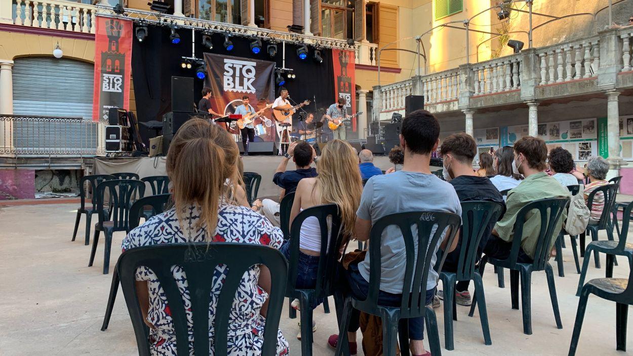 Moment del concert de The Secret Investment al Casino la Floresta / Foto: Cugat Mèdia