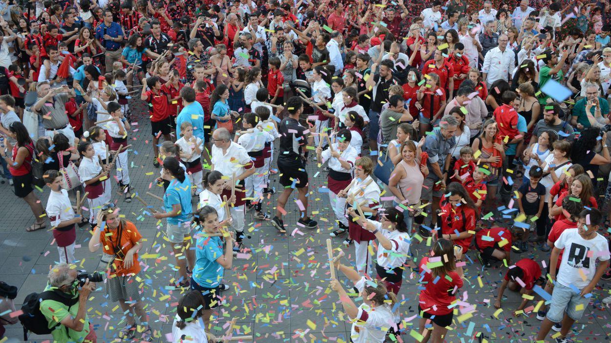 Serà una festa diferent, però amb gresca com sempre / Foto: Ajuntament de Sant Cugat - Localpres